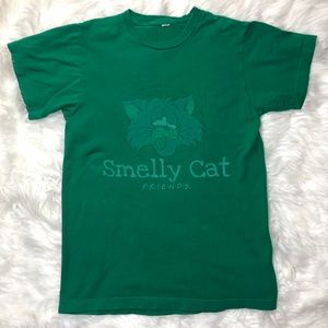 Vintage 90s Friends Phoebe Smelly Cat Tee